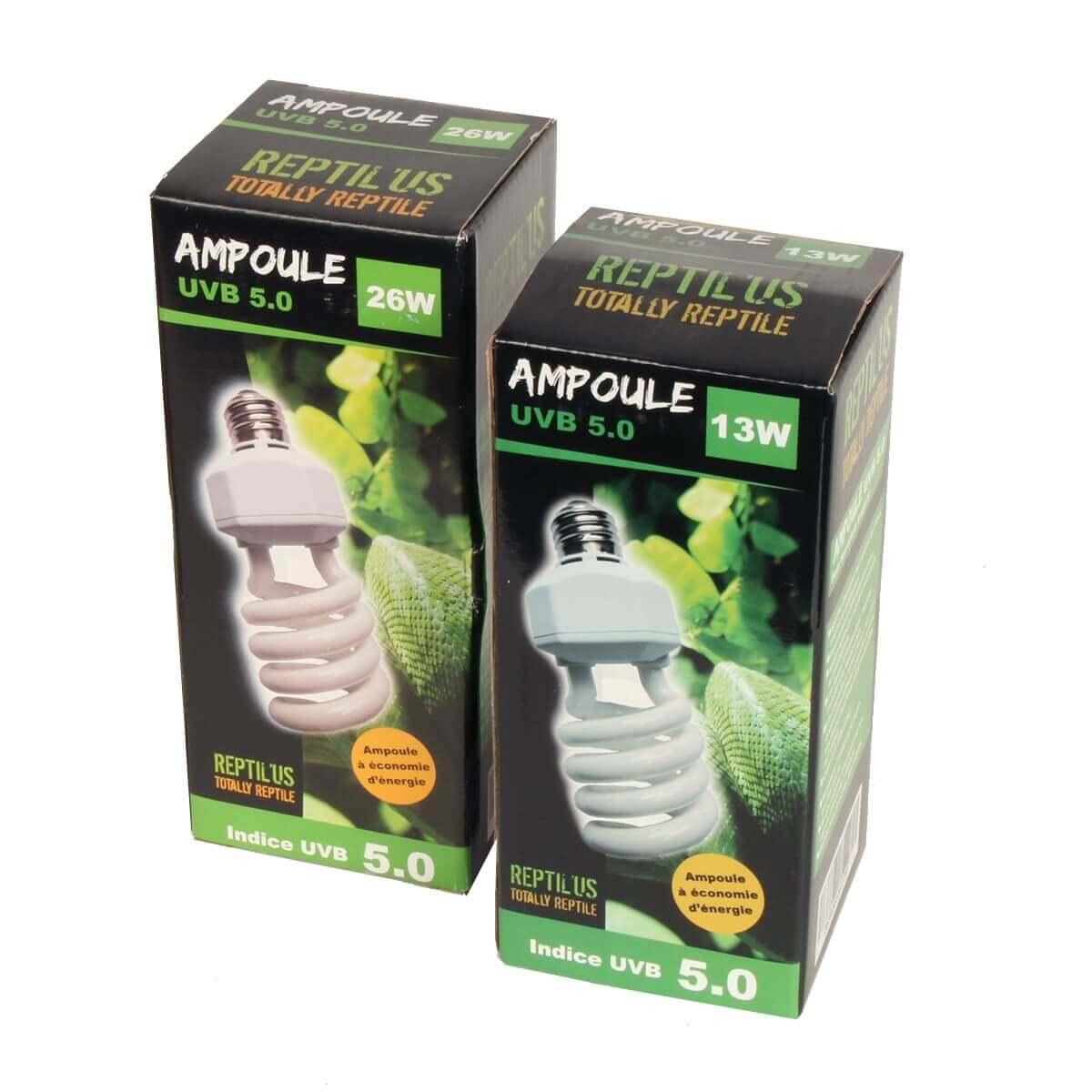 Ampoule Reptilus UVB 5.0 climat tropical_3