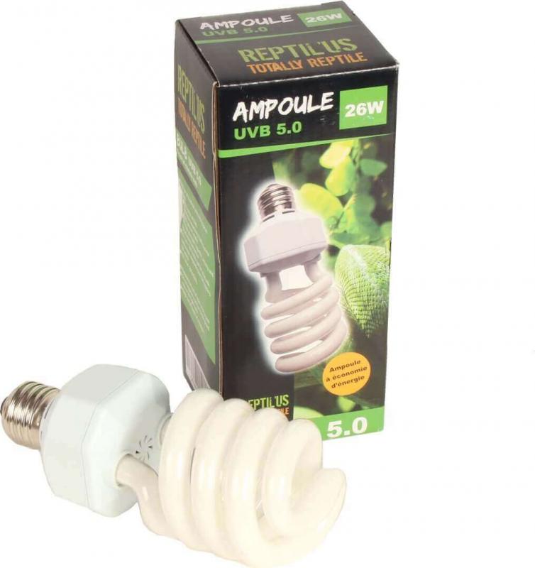 Ampoule Reptilus UVB 5.0 climat tropical