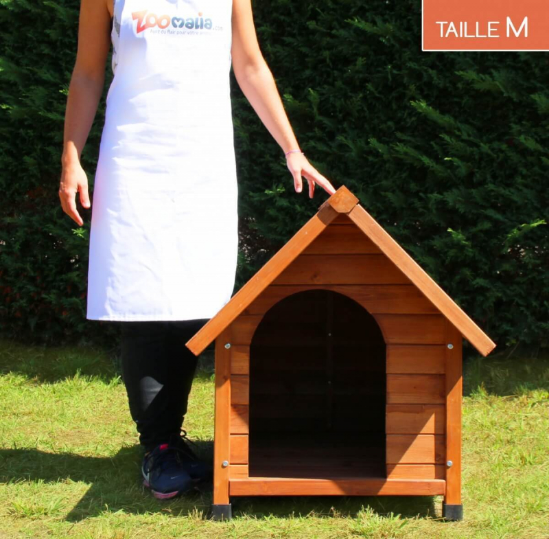 niche en bois d 39 ext rieur zolia cl o pour chiens et chats. Black Bedroom Furniture Sets. Home Design Ideas