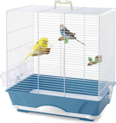 Cage PRIMO bleu pour perruches