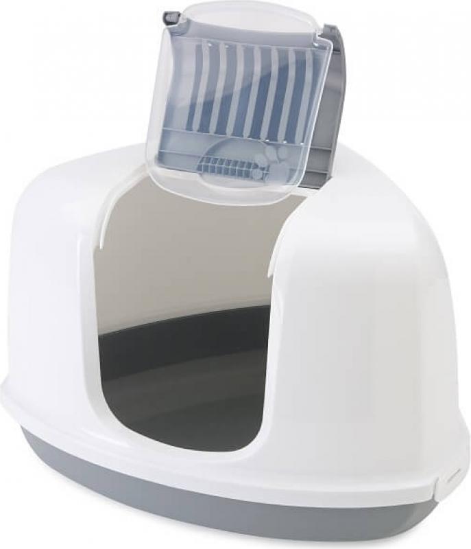 Maison de toilette NESTOR CORNER gris