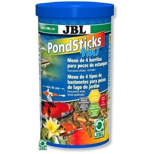 Pond sticks 4in1 jbl futter f r teichfische for Teichfische futter