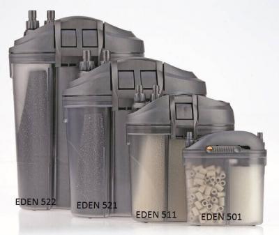 Filtre externe EDEN 501 / 511 / 521 et 522