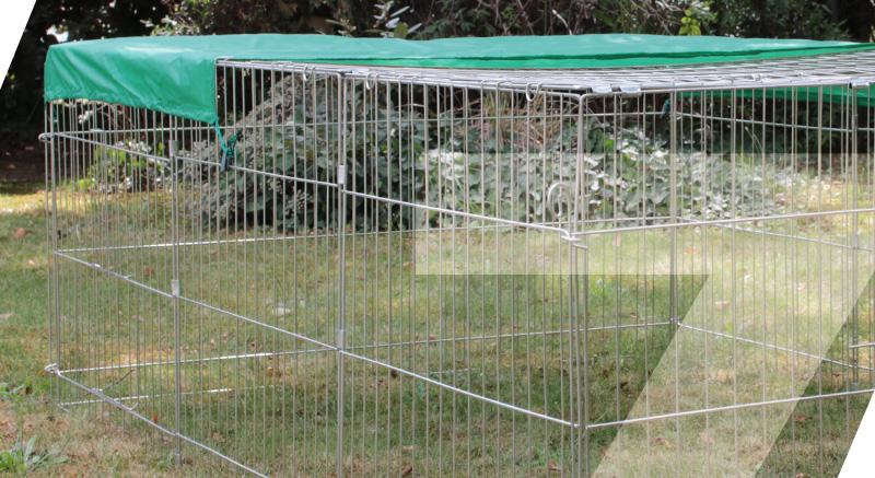 enclos extérieur oméo zolia sécurité