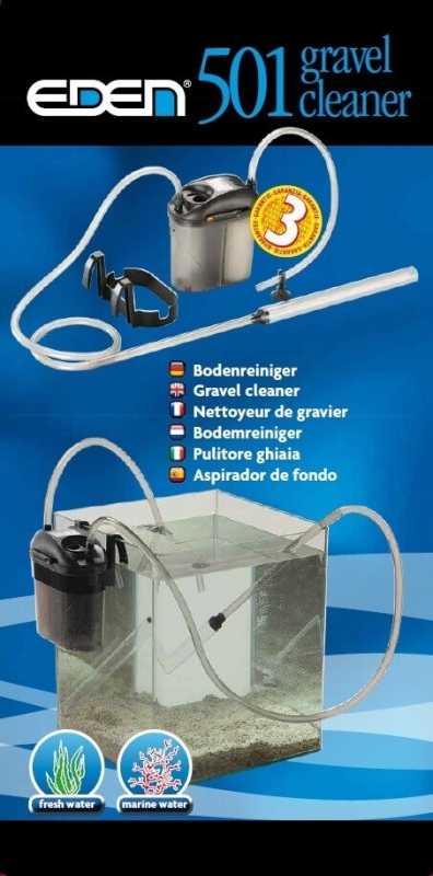 Eden 501 Nettoyeur De Gravier Pour Aquariophilie Cleaning & Maintenance