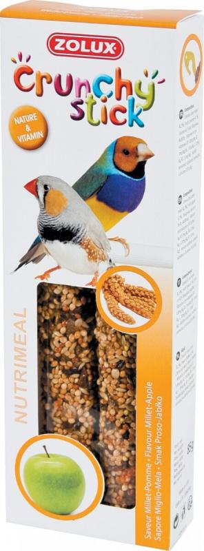 Barritas para pájaros exóticos mijo/manzana (2 udl.)