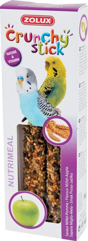 Barritas para periquitos Mijo/manzana (2 uds)