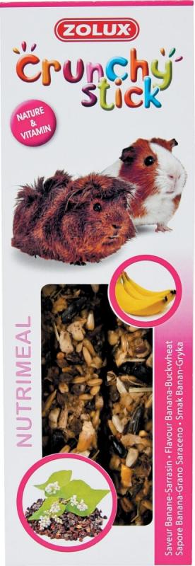 Barritas para conejillos de indias Plátano/cereales ( 2 uds)