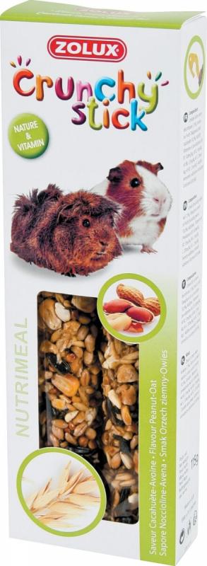 Baguettes cochon d'inde cacahuète/avoine (x2)