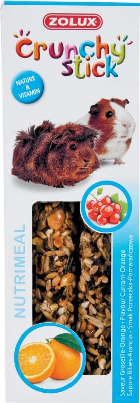Baguettes cochon d'inde groseille/orange (x2)