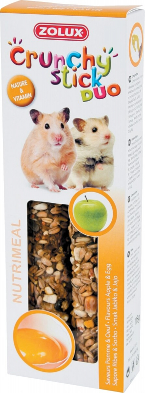 Baguettes hamster pomme/oeuf (x2)