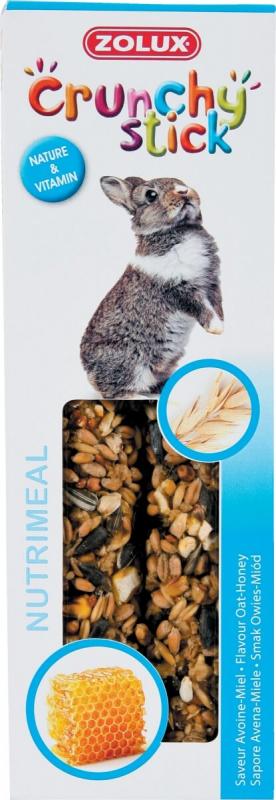 Baguettes lapin avoine/miel (x2)