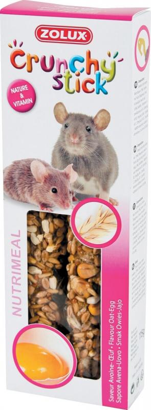 Baguettes rat et souris avoine/oeuf (x2)