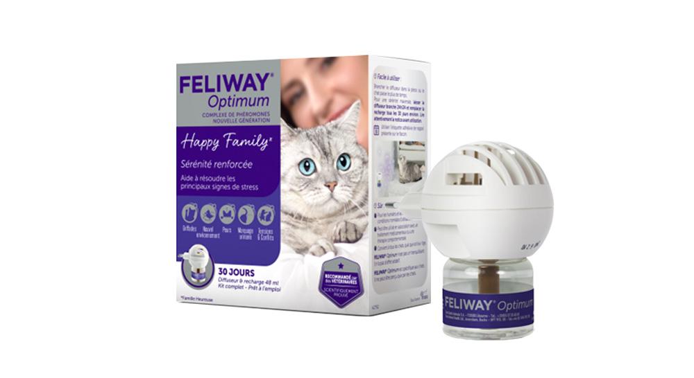 caractéristiques kit complet feliway pour chats