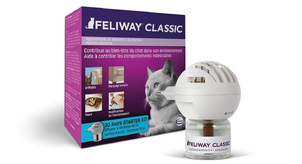caractéristique diffuseur feliway pour chats chez zoomalia
