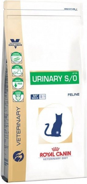 Royal Canin Veterinary Diet Urinary S/O pour chat
