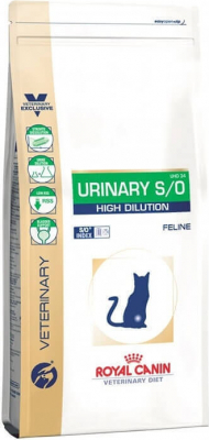 Royal Canin Veterinary - Feline Urinary S/O High Dilution