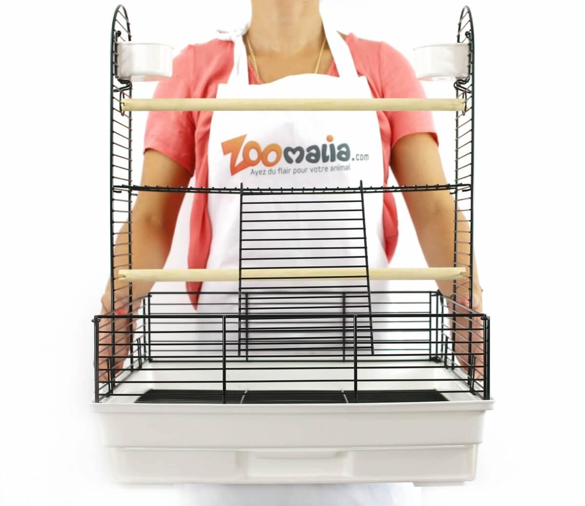 Cage Aire de jeu ZOLIA BIRDY pour perruches et petits perroquets_4
