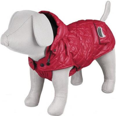 Manteau d'hiver Sila rouge