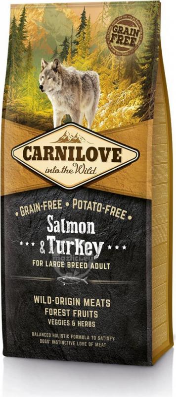CARNILOVE Adult Large Breed Saumon et Dinde pour chien