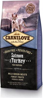 CARNILOVE Puppy Salmone e Tacchino per cuccioli