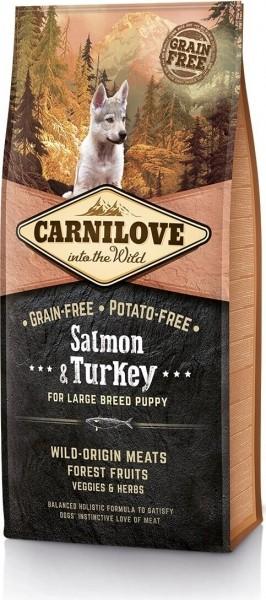 CARNILOVE Puppy Large Breed Saumon et Dinde pour chiot