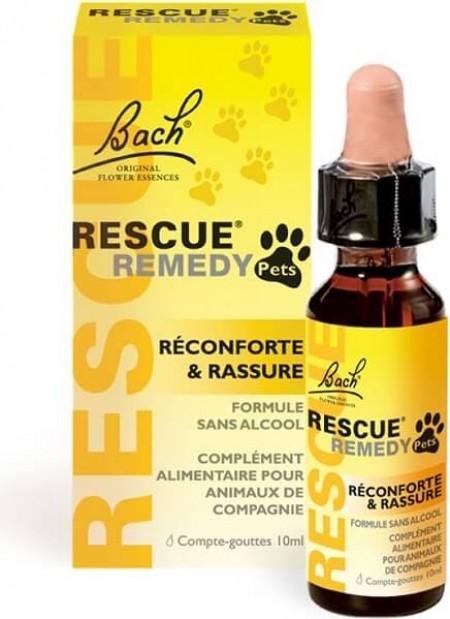 Rescue Pets, anti stress, aux fleurs de Bach