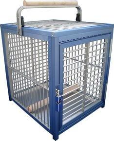 Cage de transport pour perroquet KING S