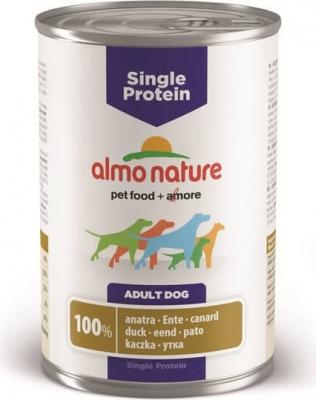 Pâtée Almo Nature SINGLE PROTEIN pour chien - Différentes saveurs