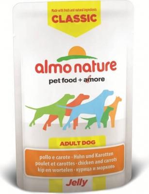 Pâtée Almo Nature Classic en gelée pour chien - Différentes saveurs