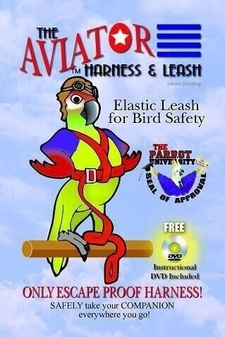 fdb24f98 ... The aviator parrot harness and lead
