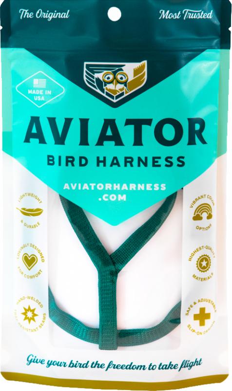 Arnês de papagaio AVIADOR - Diferentes tamanhos disponiveis