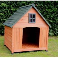 Grande niche pour chien avec terrasse ZOLIA CASTLE - 110cm