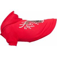 Jersey de Navidad rojo con LED