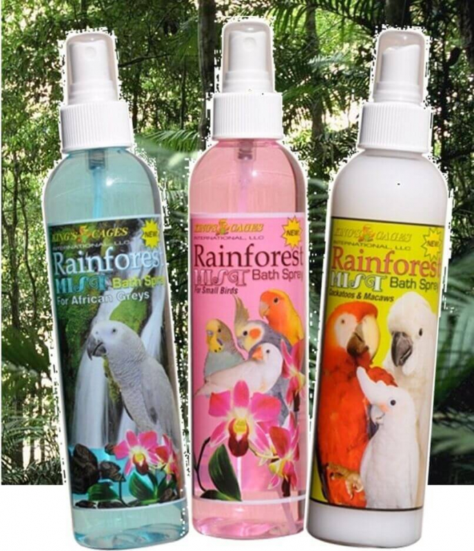 Spray nettoyant pour perroquet Rainforest