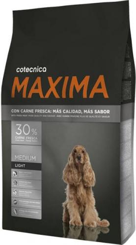 MAXIMA Medium Adult LIGHT avec 30% de viande fraîche