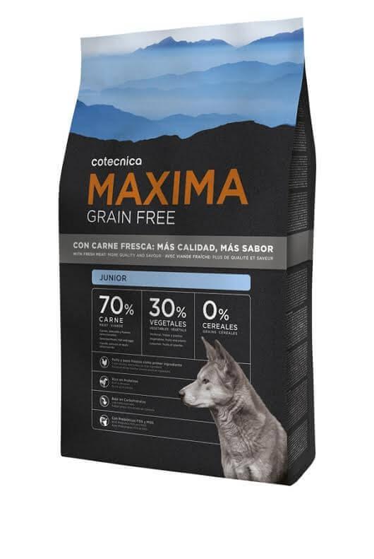 MAXIMA Grain Free Sans Céréales Junior pour chiot Poulet et Dinde_0