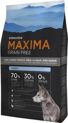 MAXIMA Grain Free Sans Céréales Junior pour chiot Poulet et Dinde