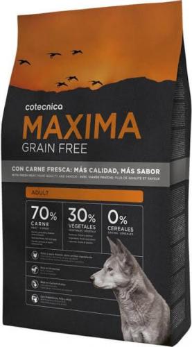 MAXIMA Grain Free Sans Céréales Adult Poulet et Dinde