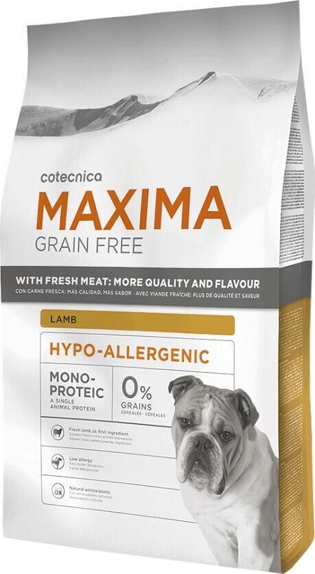 MAXIMA Grain Free Sans Céréales Hypoallergenic AGNEAU_0