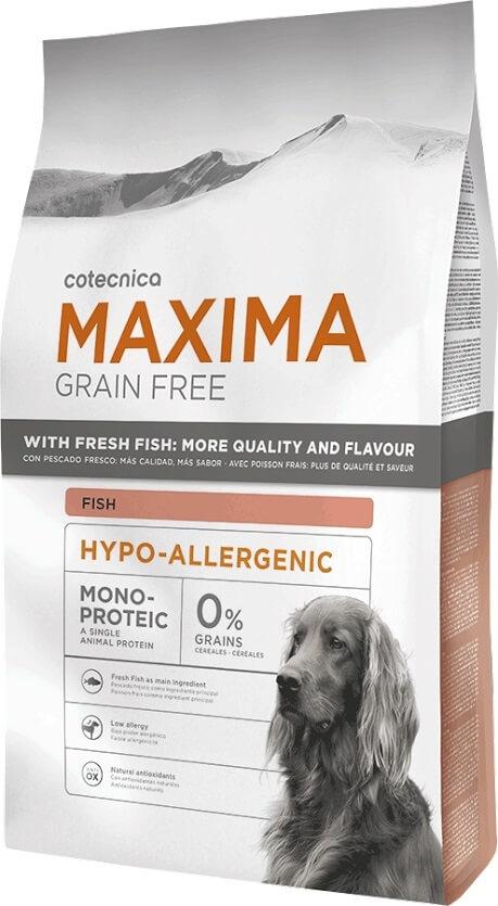 maxima grain free sans c r ales hypoallergenic poisson. Black Bedroom Furniture Sets. Home Design Ideas