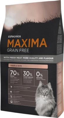 Maxima Getreidefrei für die Haut und das Fell von Katzen