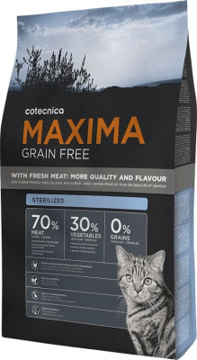 Maxima Grain Free for Sterilised Cats
