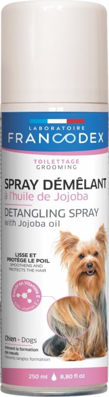 Francodex Spray démêlant à l'huile de jojoba 250ml