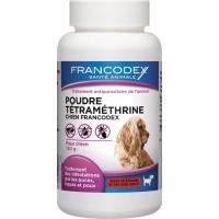 Francodex Poudre antiparasitaire pour chien à la tétraméthrine 150g