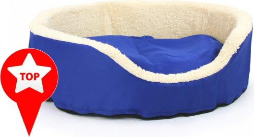 avis sur lit akya premier prix bleu et beige 60 x 50cm. Black Bedroom Furniture Sets. Home Design Ideas