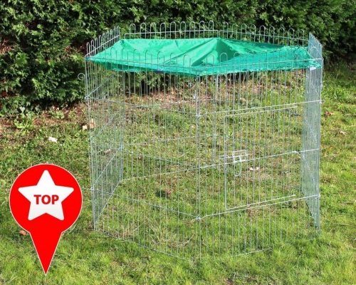 Parc pour petits animaux zolia lo enclos lapin for Parc pour lapin exterieur