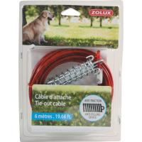 Cable de exterior para perros