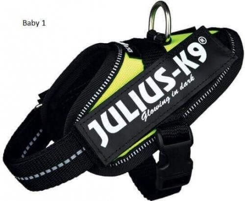Harnais Power Julius-K9 IDC POWER jaune fluo