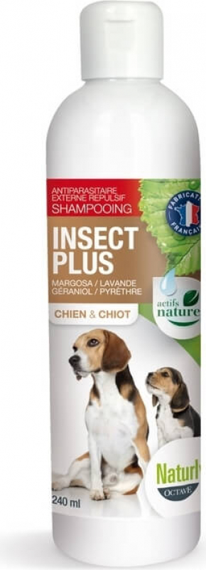 Shampoing insect plus chien et chiot 240 ml
